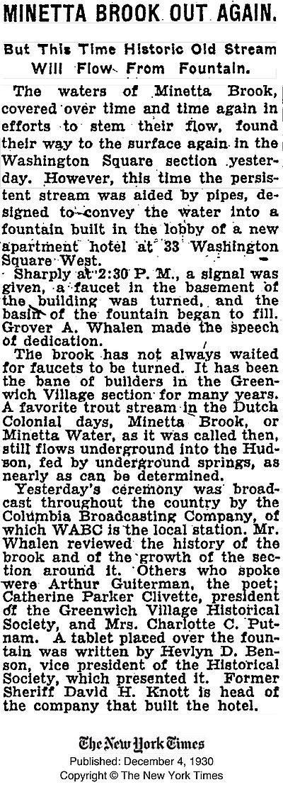 NYT_Minetta_Fountain_1930